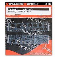 HOBBY KNL Voyager Model TEZ027 modelarstwo ogólnie szablon grawerowanie-1