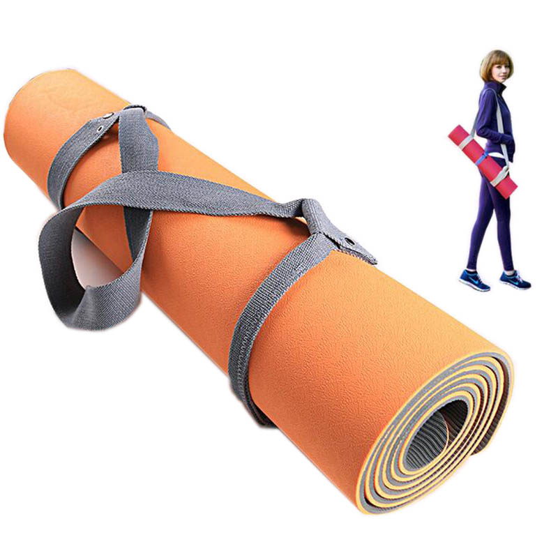Elastic Yoga Pilates Mat Sling Strap Exercise Stretch