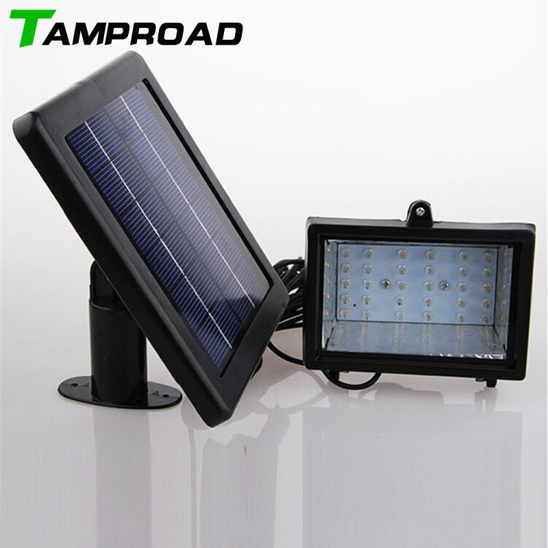 TAMPROAD Solar Home Lighting System Floodlight 30 LED