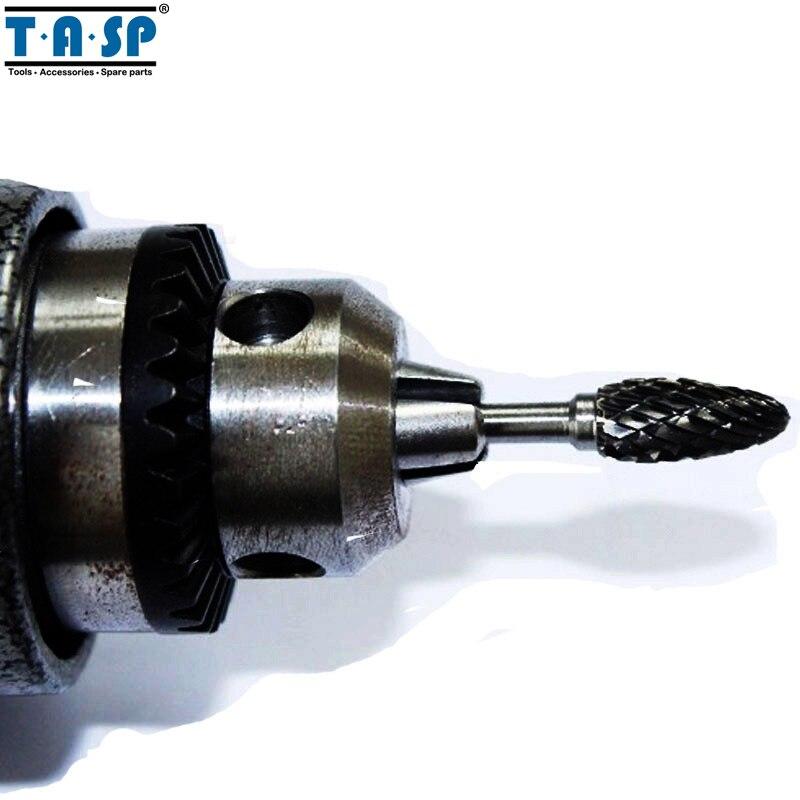 TASP 10 sztuk Frezy z węglika wolframu Frezy Frezy Grawerowanie - Narzędzia ścierne - Zdjęcie 6