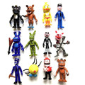 12pcs/lot 5-11.5cm Five Nights At Freddy's Action Figures Toys PVC FNAF Anime Figure Toy Model Foxy Bonnie Kids Gift Brinquedos
