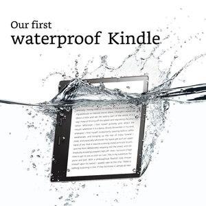 Image 3 - Новинка Kindle Oasis 32 ГБ, устройство для чтения электронных сообщений, дисплей с высоким разрешением 7 дюймов (300 ppi), водонепроницаемый, встроенный звук, Wi Fi