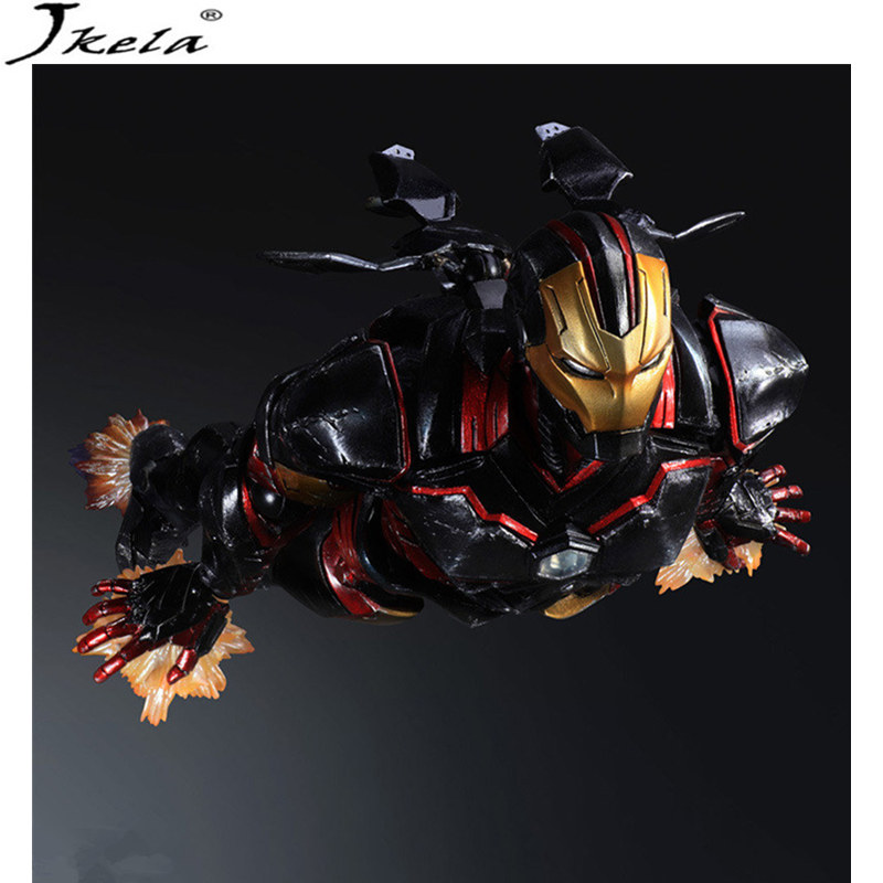 [Jkela] marvelING Avengers Infinity War Super Heroes Iron Man 3 Model PVC PVC Action Figure Toy Dolls Toy 26cm LegoINGly