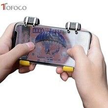 2 pcs pubg controle gatilho para jogos pubg shooter botão de fogo jogo de tiro joystick controlador gamepad para o telefone móvel