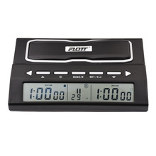 FLOTT Digital Chess Clock Count Up Down Timer Professional Sports Electronic Checkers Competition Pieces Board Game Watch