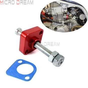 Tensores de cadena de leva Manual roja CNC Tensión de aluminio para Honda cbr600hr cbr1000hr 2003-2016 VFR800 2002-2008