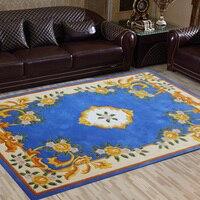 RugFur Wool Carpet Modern Rugs And Carpets 100% Natural Sheepskin