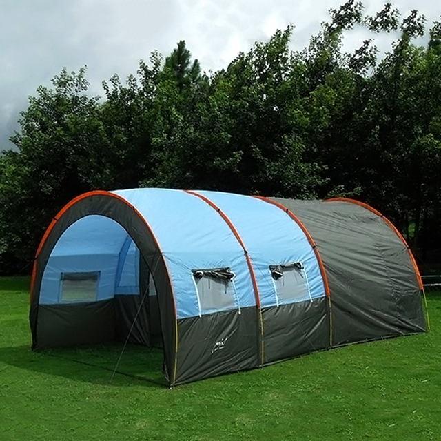 8-10 Person Outdoor Sports Waterproof Family C&ing Hiking Travel Instant House Party Tarp Picnic & 8 10 Person Outdoor Sports Waterproof Family Camping Hiking Travel ...