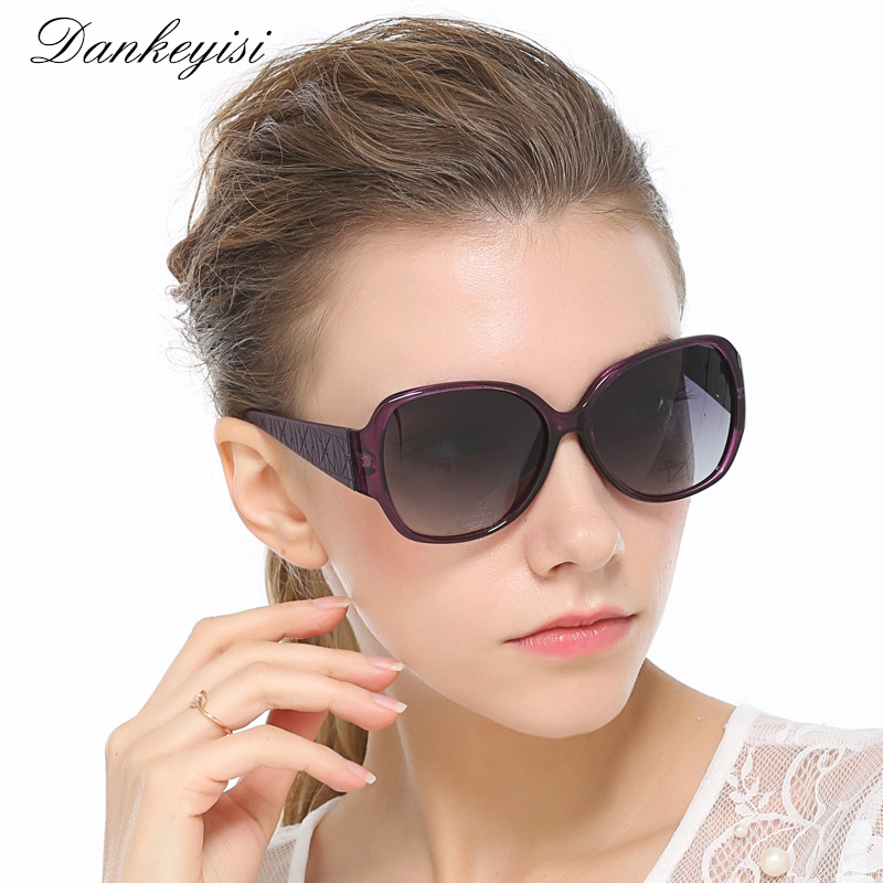 DANKEYISI Vintage Big Frame Sunglasses Ws