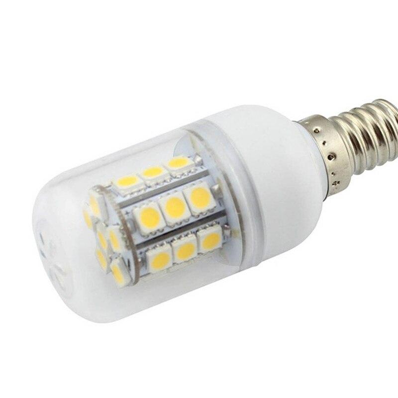 Купить с кэшбэком NDTUSMZ LED Light Bulb E14 Corn Bulb 5W 220V SMD 5050 Energy Saving Corn Bulb warm cold white Spotlight Bulb Lamp led light