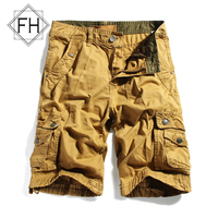 FuHao ClassicT Summer Cargo Sport Shorts Male Hiking Short Pants With Multiple Pockets For Boys Hip