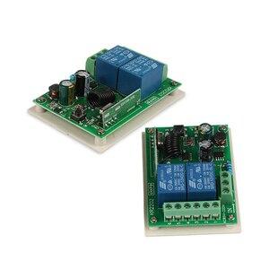 Image 2 - QACHIP 433 MHz AC 250V 110V 220V 2CH RF รีเลย์ตัวรับสัญญาณรีเลย์ไร้สายรีโมทคอนโทรล 433 MHz รีโมทคอนโทรล