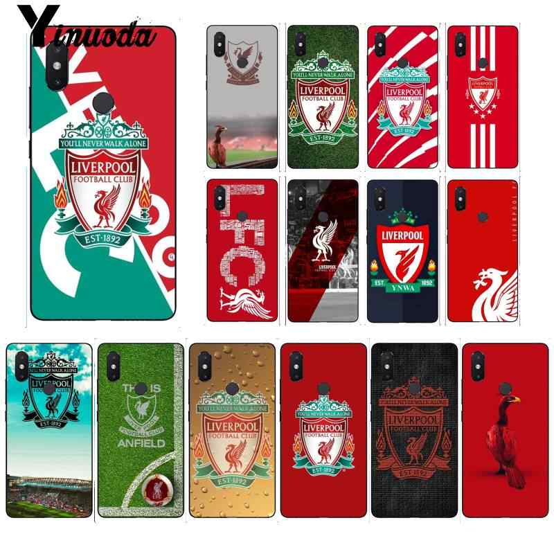 Yinuoda FC Liverpool soccer football Customer Shell Phone Case for Xiaomi Mi 6 Mix2 Mix2S Note3 8 8lite Redmi 5 note5 Note4 4X
