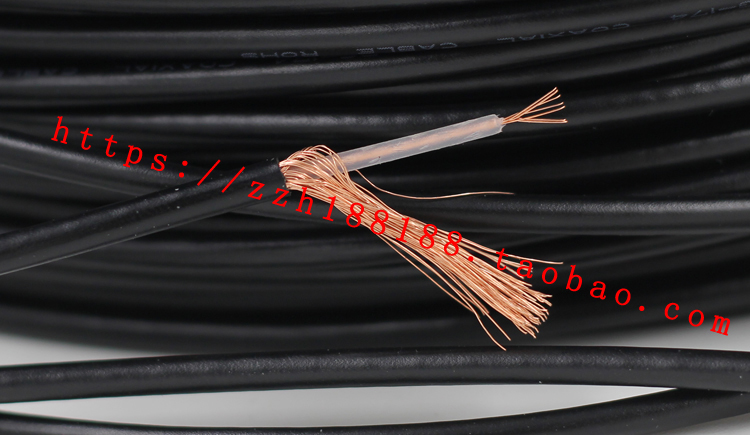 US $8.36 12% OFF Free ship 10M/20M RG174 RG 174 cable Wires RF Coax on