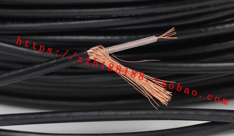 Libera La Nave 10 M/20 M Rg174 Rg-174 Fili Del Cavo Rf Coassiale Connettore Coassiale Cavo Di 50 Ohm Antenna Estensione Cavo Di Filo Di Rame Pieno Una Vasta Selezione Di Colori E Disegni