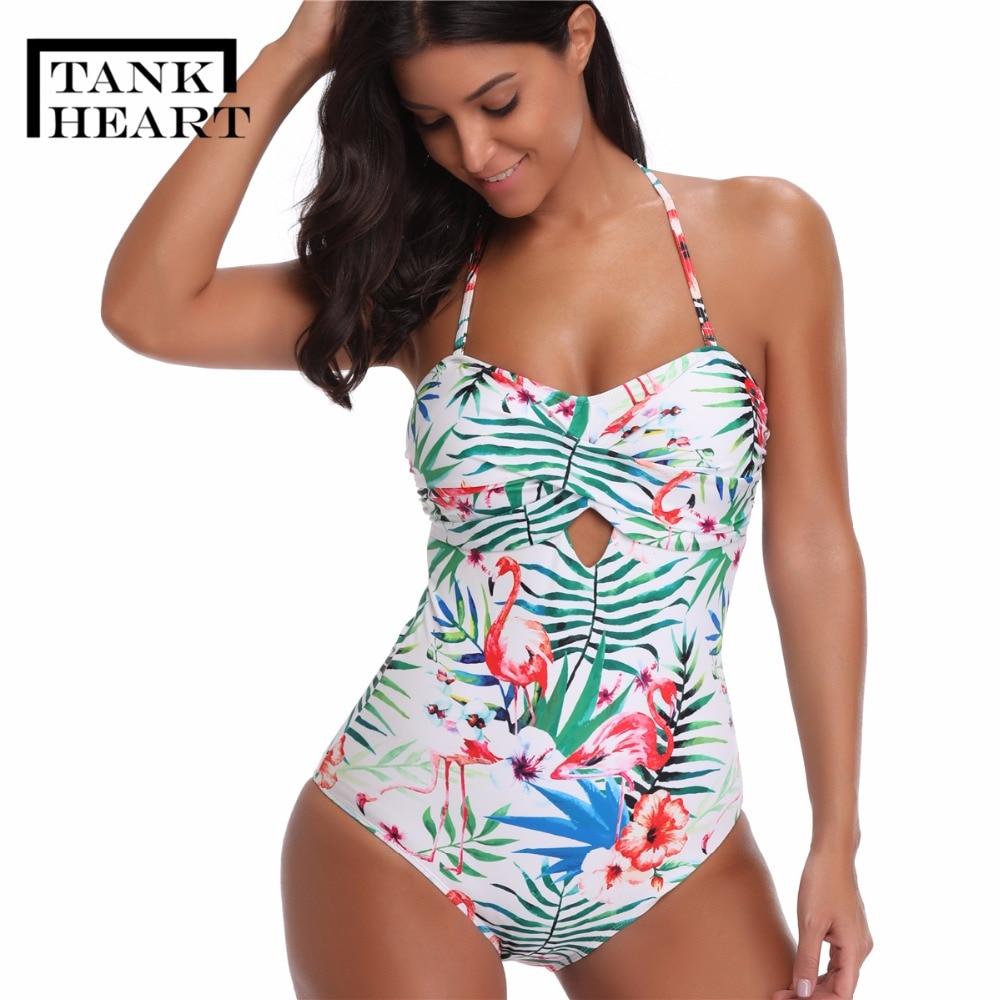 Banador Estampado De Una Pieza Para Mujer Monokini De Talla Grande Trikini De Tallas Grandes Traje De Bano Bodis Aliexpress
