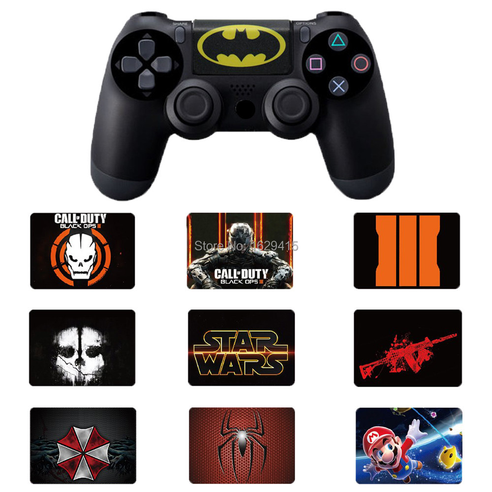 IVYUEEN Custom 1 PCS PVC Touch Pad Vinyl Stickers Decal Cover For Sony Dualshock 4 PS4 DS4 Pro Slim Controller Touchpad Skin