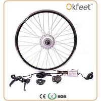 36 В 250/350 Вт электрический велосипед комплект для 20 26 28 колесо двигателя чайник Батарея светодио дный ЖК дисплей Ebike e велосипед электрическ