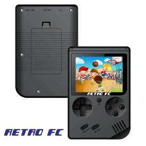 Image 2 - Mini retro klasik oyun el video 168 oyun konsolu 3 inç 8 bit oyun konsolu ile 168 ücretsiz oyunlar