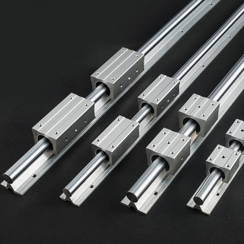 4 Set SBR12-1500mm FULLY SUPPORTED LINEAR RAIL SHAFT ROD with 8 SBR12UU