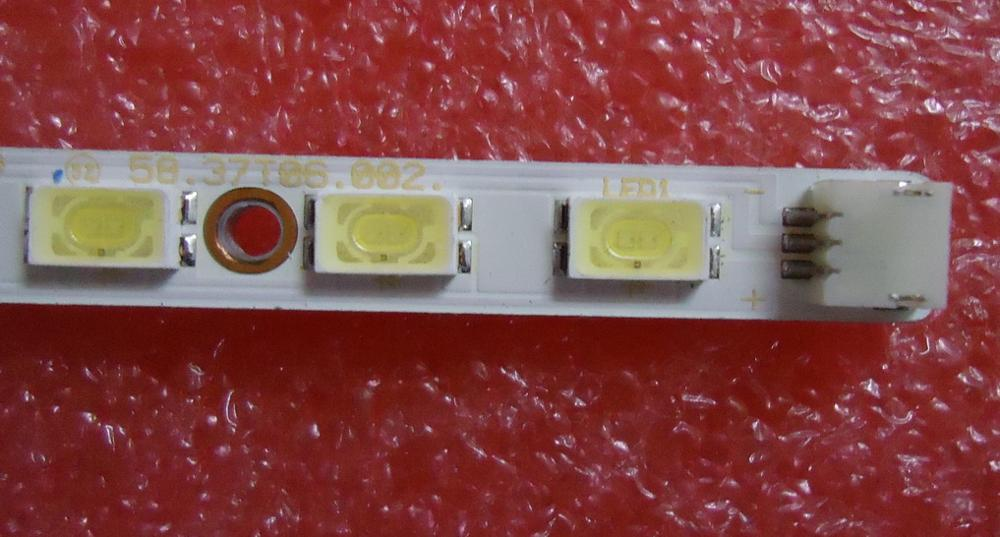FOR Changhong ITV37830EX Article Lamp 73.37T06.003-5-SN1 73.37T06.004-5-SN1 1piece=44LED 420MM