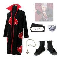 Japan Anime Naruto Hidan Cosplay Kostuums Akatsuki Itachi Deidara Tobi