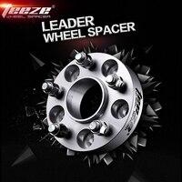 Promo Espaciador de rueda de aluminio TEEZE 1 pieza para VW golf passat Skoda Octavia Seat Leon MK3 adaptador 5x112mm agujero central 57,1mm