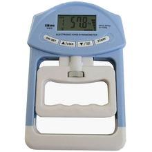 Health Tester 198lb/90kg Digital Dynamometer Electronic Hand Grip Power Meter Fitness Body Building Strength Measurement Meter