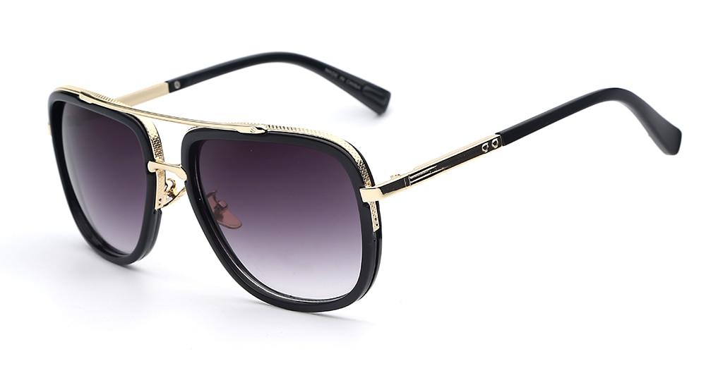 Brand Designer Sunglasses Men Women Retro Vintage Sun glasses Big Frame Fashion Glasses Top Quality Eyeglasses UV400