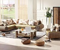 2018 new design rattan sofa living room furniture HC 0041