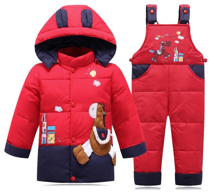 Kids clothes Baby Boys Girls Winter Jacket Down Warm Coats Children Child Snowsuit Sound Outerwear Jacket