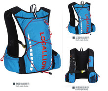 L mochila de esportes ao ar livre andar de mountain bike saco bolsa de ombro