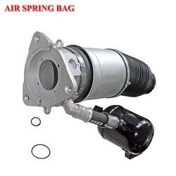 1 sztuka tylne lewe/prawe zawieszenie pneumatyczne wiosenna torba dla Audi A8 Quattro D3 4E S8 2002 2011 pneumatyczny amortyzator wstrząsów 4E0616001E 4E0616002E|Amortyzatory i rozpórki|   -