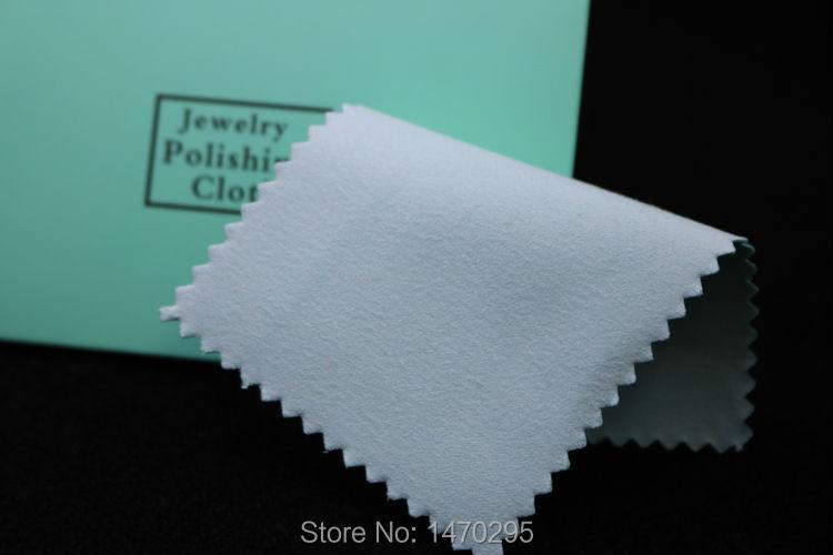 Купить 100 шт чистящая полировальная ткань для серебра с упаковкой