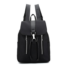 Noir femmes Oxford tissu imperméable jeunesse espace de sac mochila feminina portefeuille à l'école kpop sac pour femmes 4 Styles