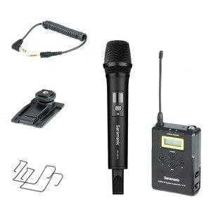 Image 5 - Saramonic Uwmic15A UHF אלחוטי כף יד ראיון מערכת מיקרופון להקלטת וידאו, ניקון, Canon