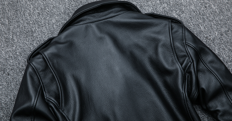 HTB1c27Zpsj B1NjSZFHq6yDWpXat MAPLESTEED Classical Motocycle Jackets Men Leather Jacket 100% Natural Calf Skin Thick Moto Jacket Man Biker Coat Winter M192