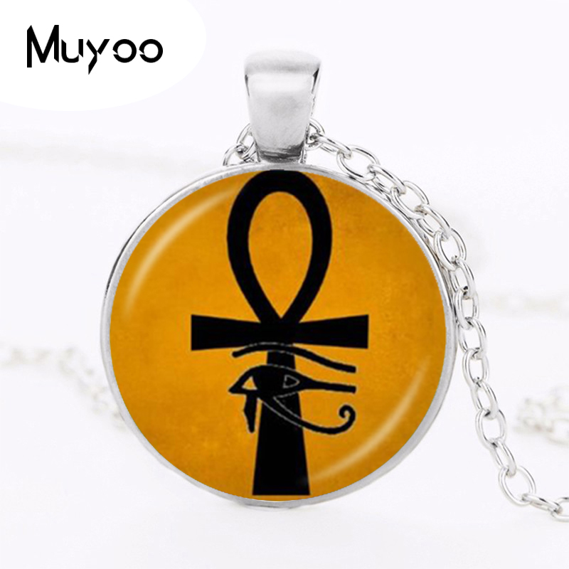 Ancient Eye Of Horus Ra Ankh Necklace Cross Of Life