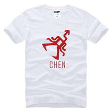 wolf 88 XOXO Chen Printed Mens Men T Shirt T-shirt 2016 Short Sleeve O Neck Cotton Casual Tshirt Tee Hombre