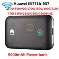 Unlocked Huawei E5771 E5771h-937 9600 mah Power Bank 4g LTE MIFI Modem WiFi Router Mobiele hotspot PK E5770 E5786 e5377 MF855