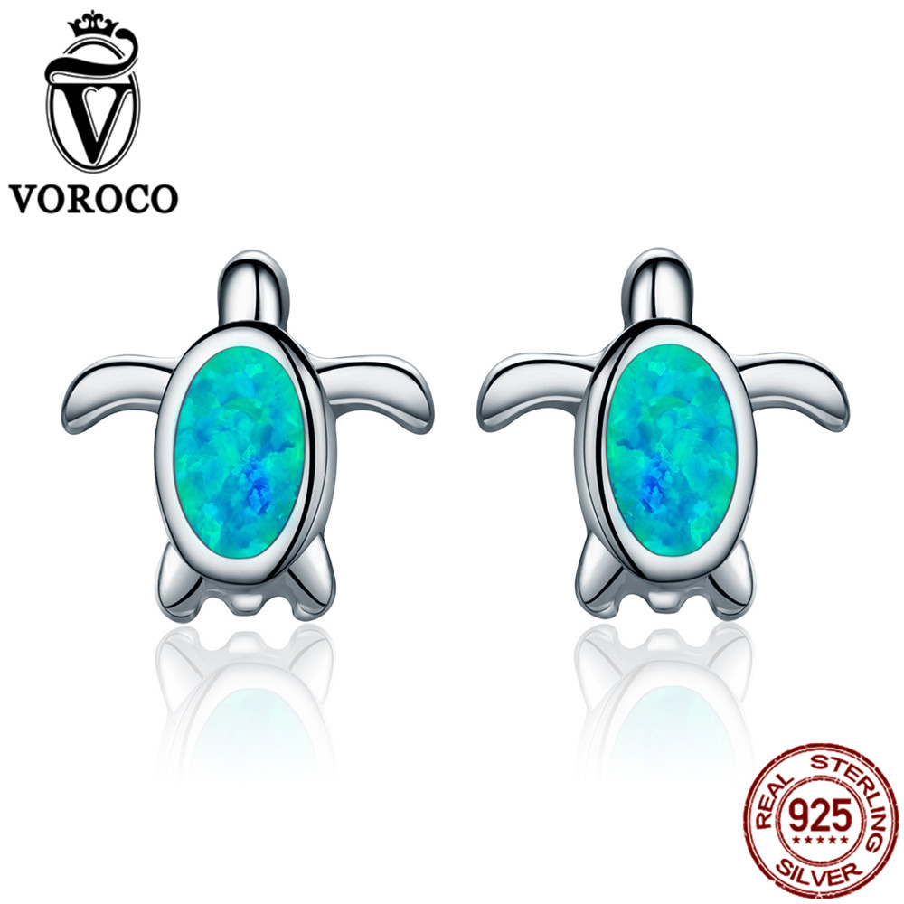 sea green silver fnoy turtle fullxfull zoom listing earrings cz il animal stud