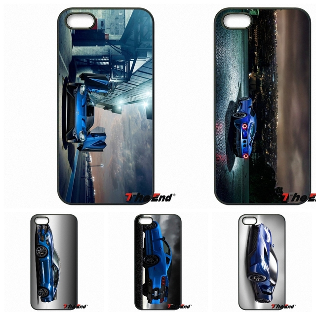 2016 Ford GT Blue Car Wallpaper TPU Hard Phone Case Cover For Samsung  Galaxy Note 2