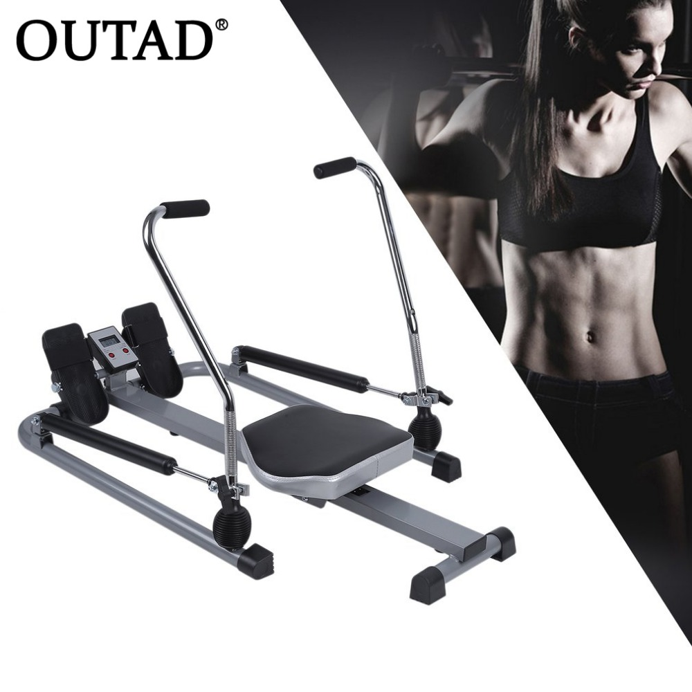OUTAD Multifunctional Abdominal Rowing Device Belly Trainer Tool Fitness Exerciser Loss Weight Health Care Gym Home Equipment image