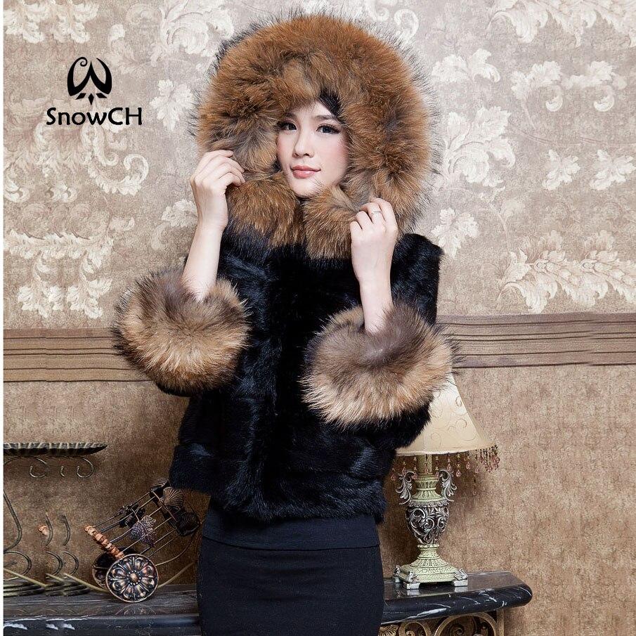 Popular Natural Rabbit Fur Coat-Buy Cheap Natural Rabbit Fur Coat ...