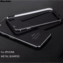 Модный Алюминиевый металлический бампер для iphone 11 Pro защитная рамка для iphone X XS MAX XR 5 6 7 8 Plus чехол bmper