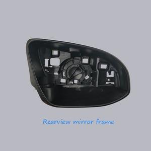 Image 3 - HengFei אביזרי רכב עבור טויוטה יאריס 2012 ~ 2019 מודלים מראה אחורית הרכבה מראה אחורית כיסוי מסגרת איתות