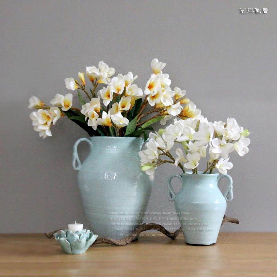 Ceramic club nrk blank pottery flower vase american country ceramic club nrk blank pottery flower vase american country pastoral style jewelry soft nostalgic decorations in vases from home garden on aliexpress reviewsmspy
