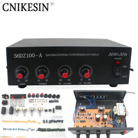 DIY Suite 220V Stereo Audio Power Amplifier Kit TDA2030 Power Amplifier Bulk With The Shell Transformer