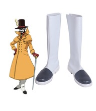 Boku no Hero Academia My Atsuhiro Sako Mr. Compress Cosplay Boots Shoes Custom Made