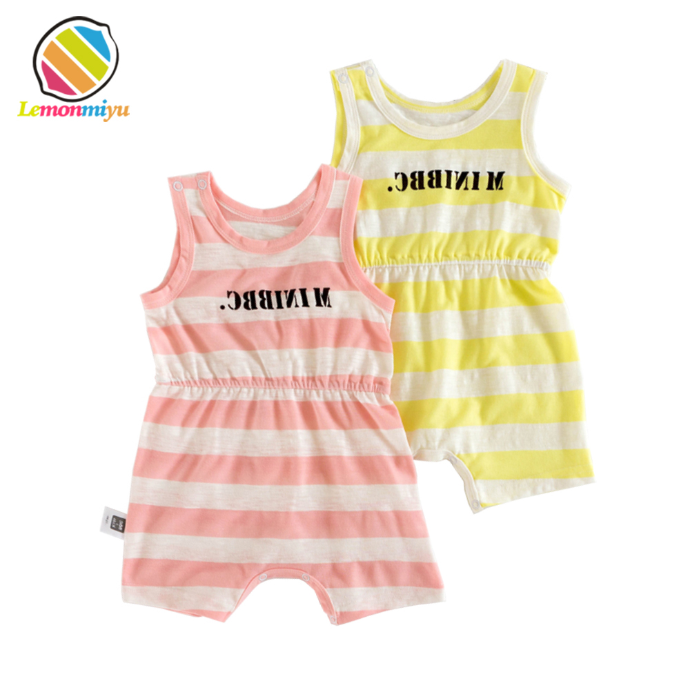1st Birthday Baby Summer Cotton Clothes Baby Boy Girl